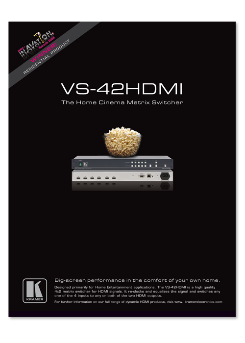 VS-42HDMI advert