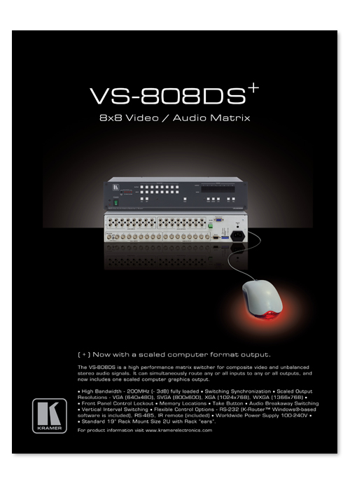 VS-808DS advert