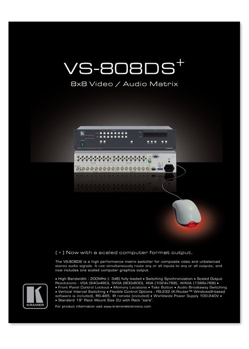 VS-808DS advert