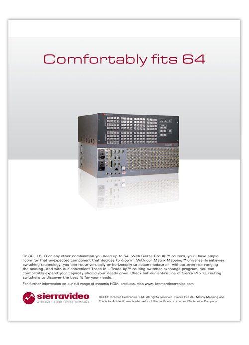 Sierra 64 advert