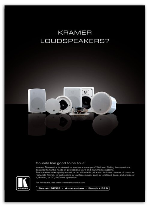 Speakers ad