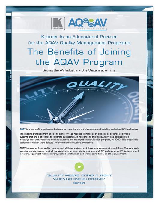 AQAV Brochure