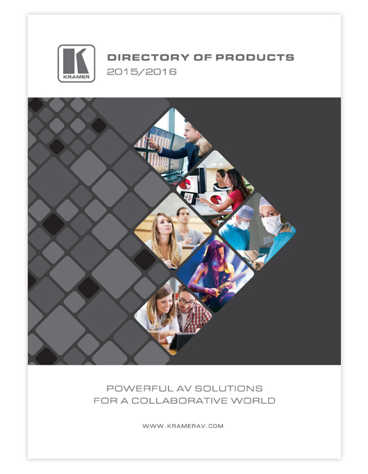 DIRECTORY OF PRODUCTS 2015/2016