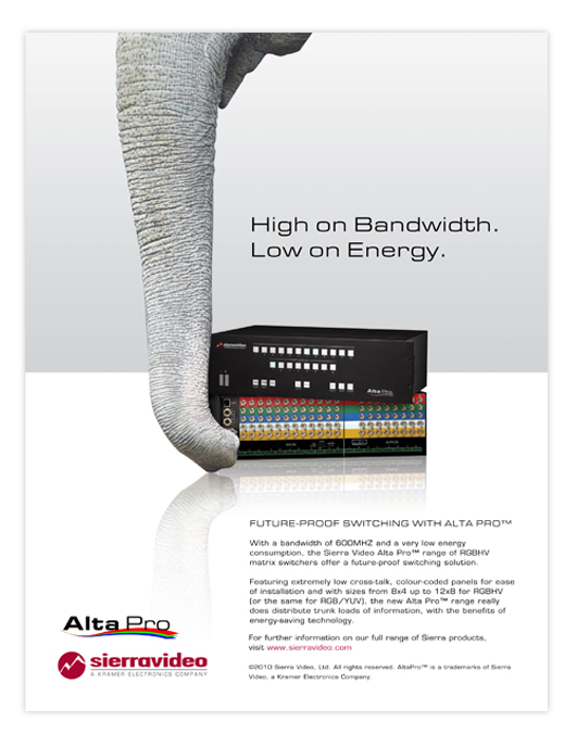 AltaPro ad