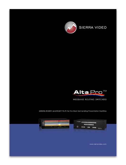 Alta Pro brochure
