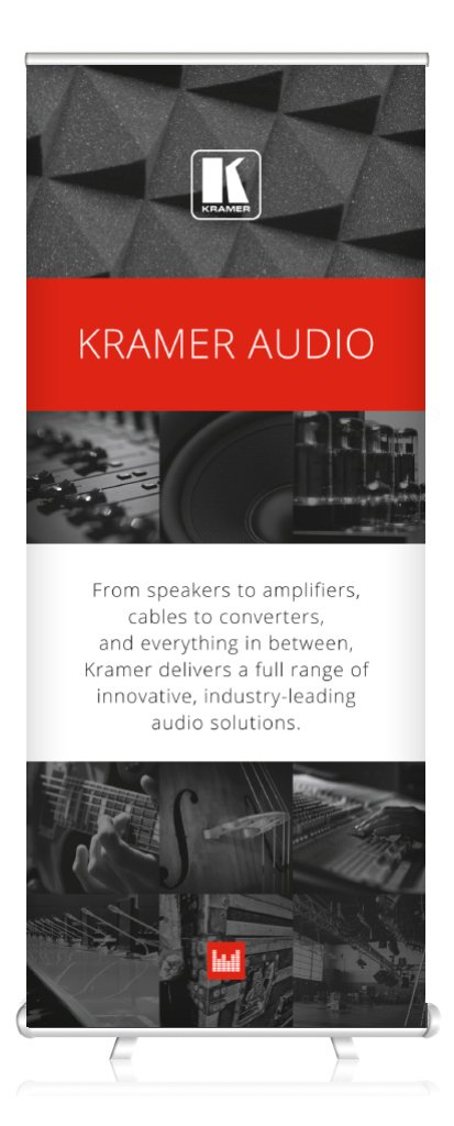 Kramer Audio Roll Up