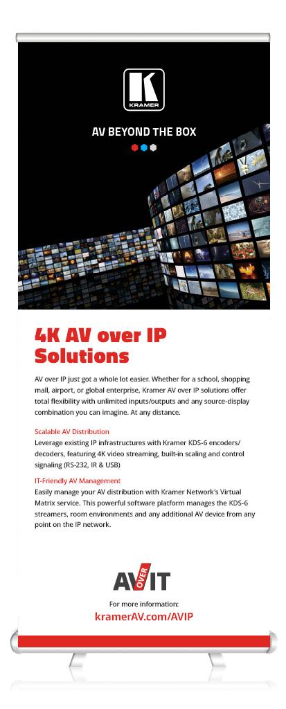 AV over IT poster