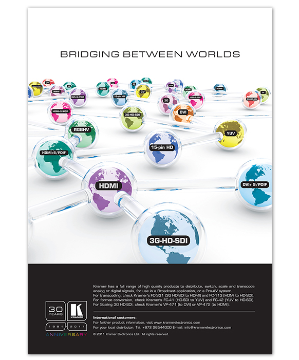 BRIDGING between worlds ad