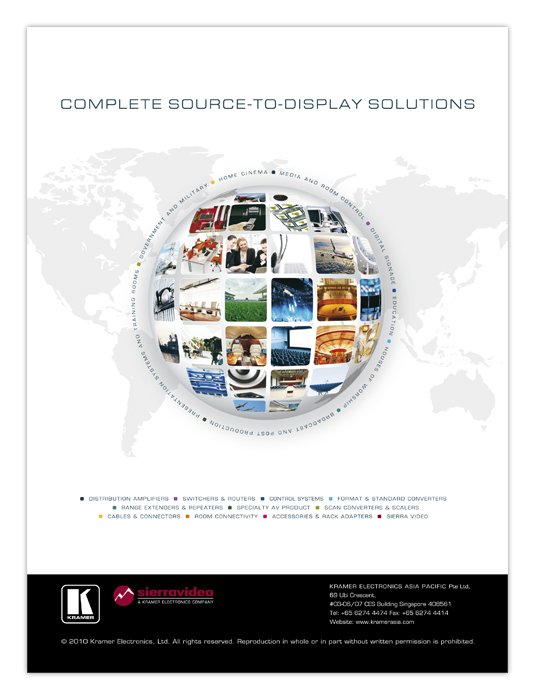 Complete source to display solutions ad