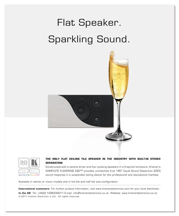 Flat Speaker ad