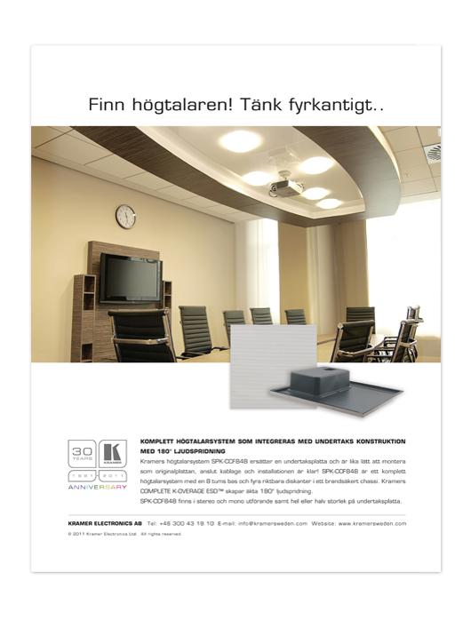 Flat Speaker ad 2