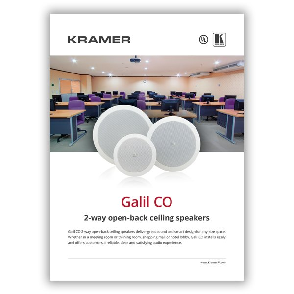 Galil CO Brochure