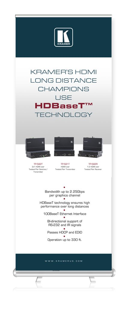 HDBaseT™ TECHNOLOGY Roll Up
