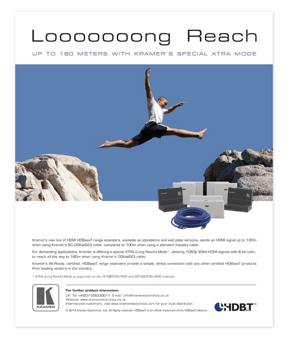 HDBaseT - Long Reach ad