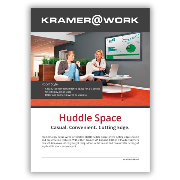 Huddle Space Flyer