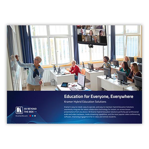 Hybrid Education Brochure