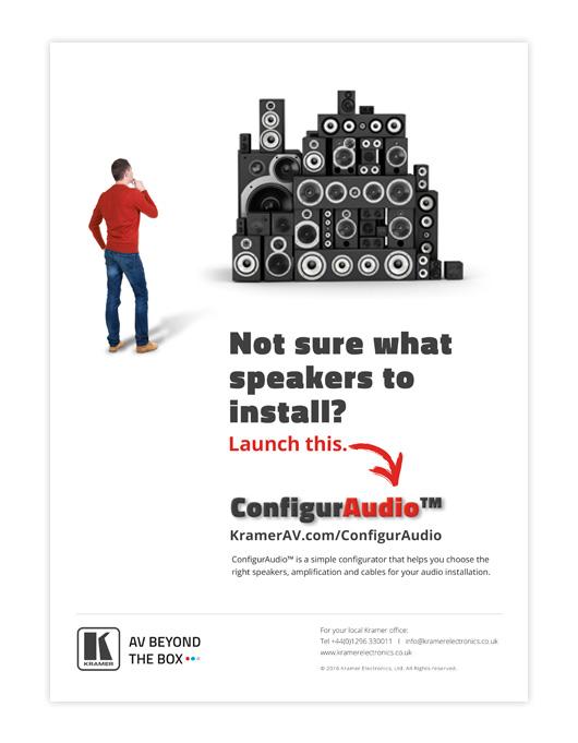 Kramer ConfigurAudio ad