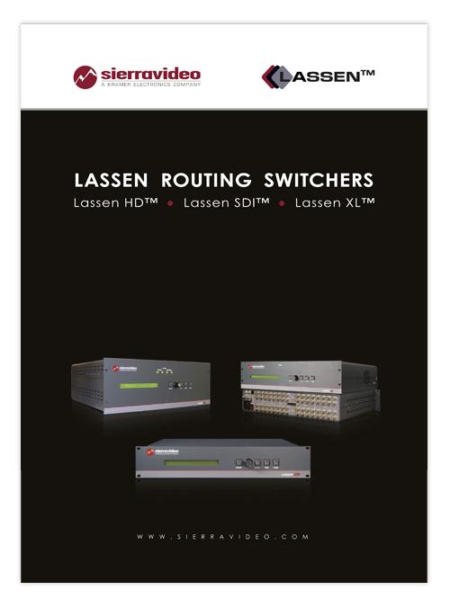 Sierra Lassen brochure 2009