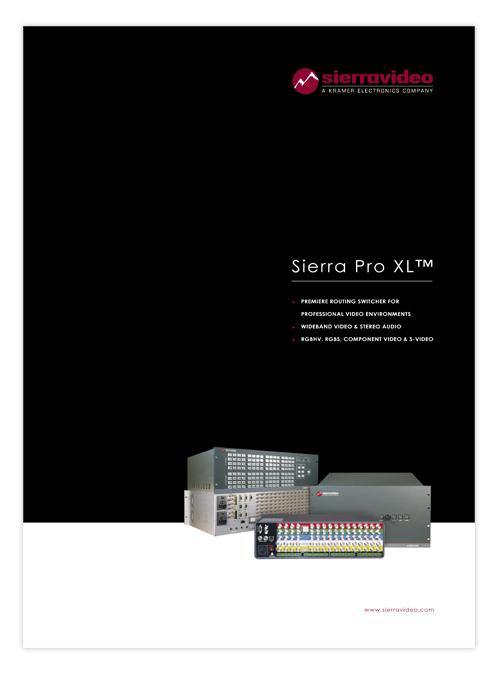 Sierra Pro XL brochure 2009