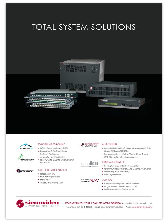 Total System Solutions ad