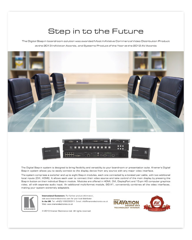 STEP-IN SYSTEM AD