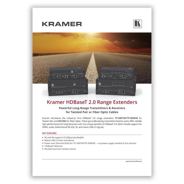 HDBaseT 2.0 Range Extenders