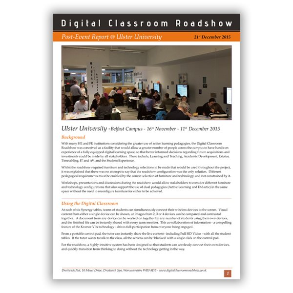 Digital Classroom Roadshow