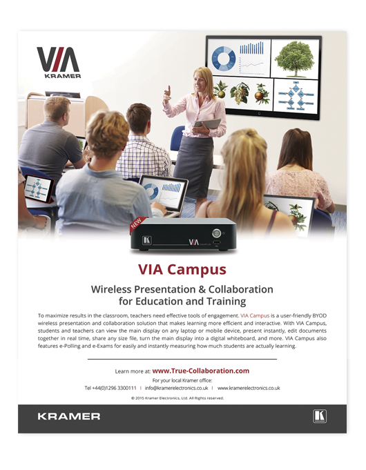 VIA Campus ad