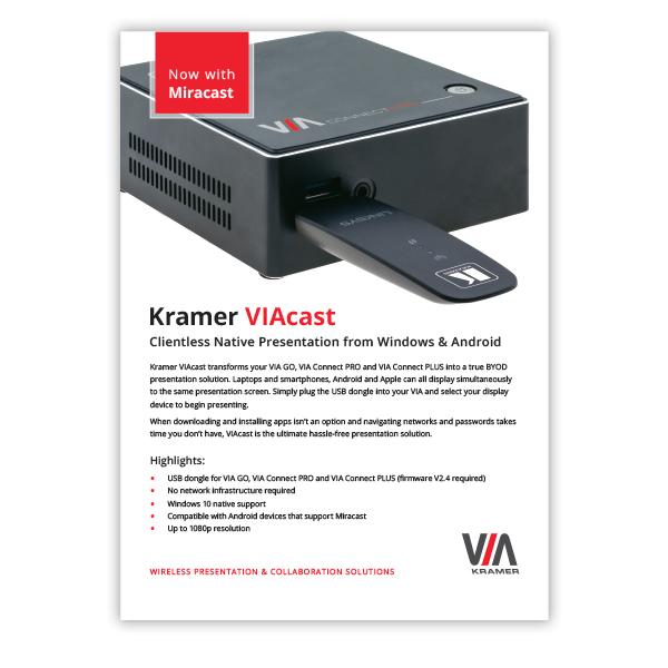 VIAcast