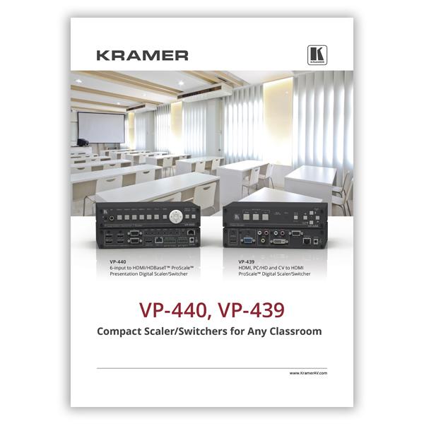 VP-440 VP-439 Flyer