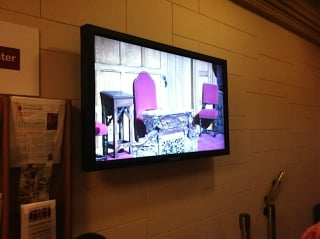 Church Gets High−Tech Video Make−Over from Kramer Electronics Audio/Video System