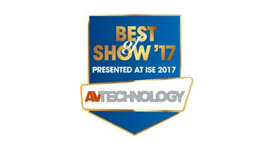 Kramer Video Content Overlay (VCO) Wins ISE 2017 Best of Show