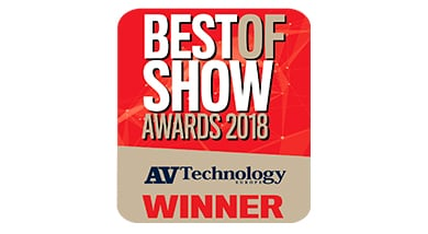 Kramer Network 2.0 Wins ISE 2018 Best of Show