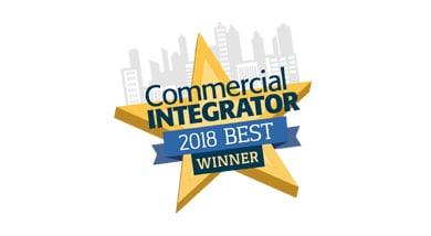 CA-HM Wins Commercial Integrator BEST 2018 Award