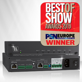 PA-240Net Wins Best of Show