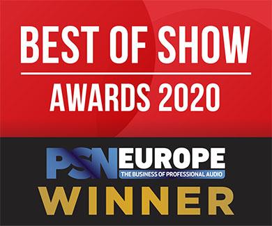 Kramer Wins PSNE Best of Show at ISE 2020