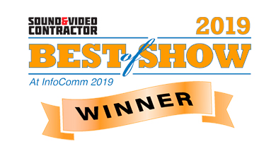 VIA Connect PLUS Wins Best of Show Award InfoComm 2019