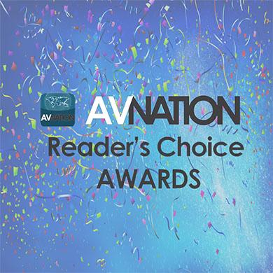 Kramer Wins Three Best of Show AVNationTV Reader's Choice Awards