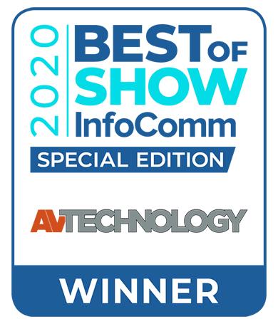 Kramer Wins Two AV Technology Best of Show 2020 Awards