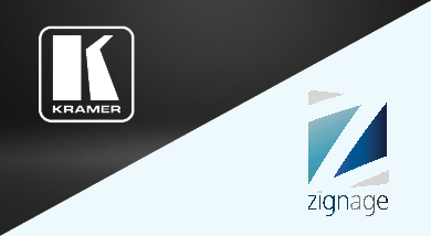 Kramer partners with Zignage to create instant alerts management solution