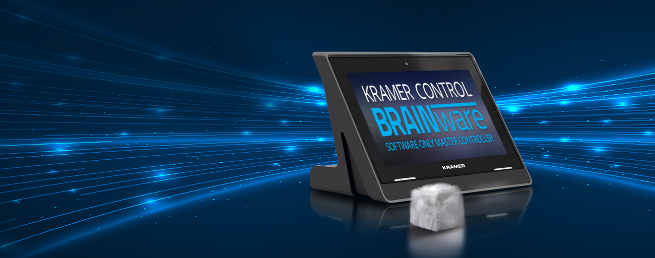 Kramer Strengthens Control Offering with the Introduction of Kramer BRAINware at InfoComm 2018