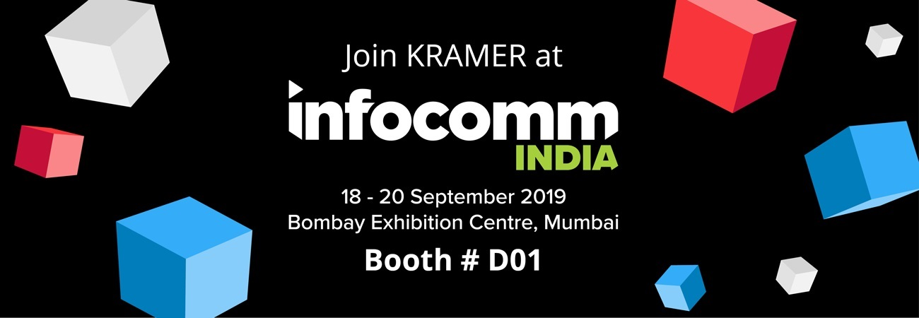 Kramer AV Excellence to InfoComm India Summit with series of sessions