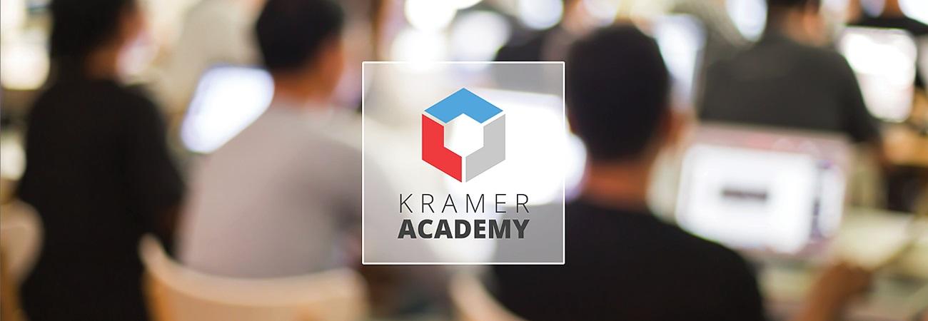 Kramer Academy mobilizes with Avixa-approved Pro AV courses