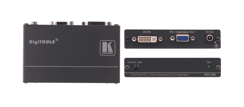 Kramer FC-32 DVI to VGA converter