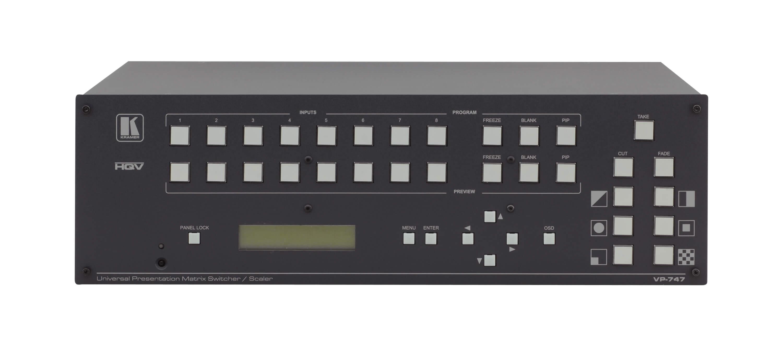 Kramer VP-747T Presentation Scaler-Switcher Driver (2019)