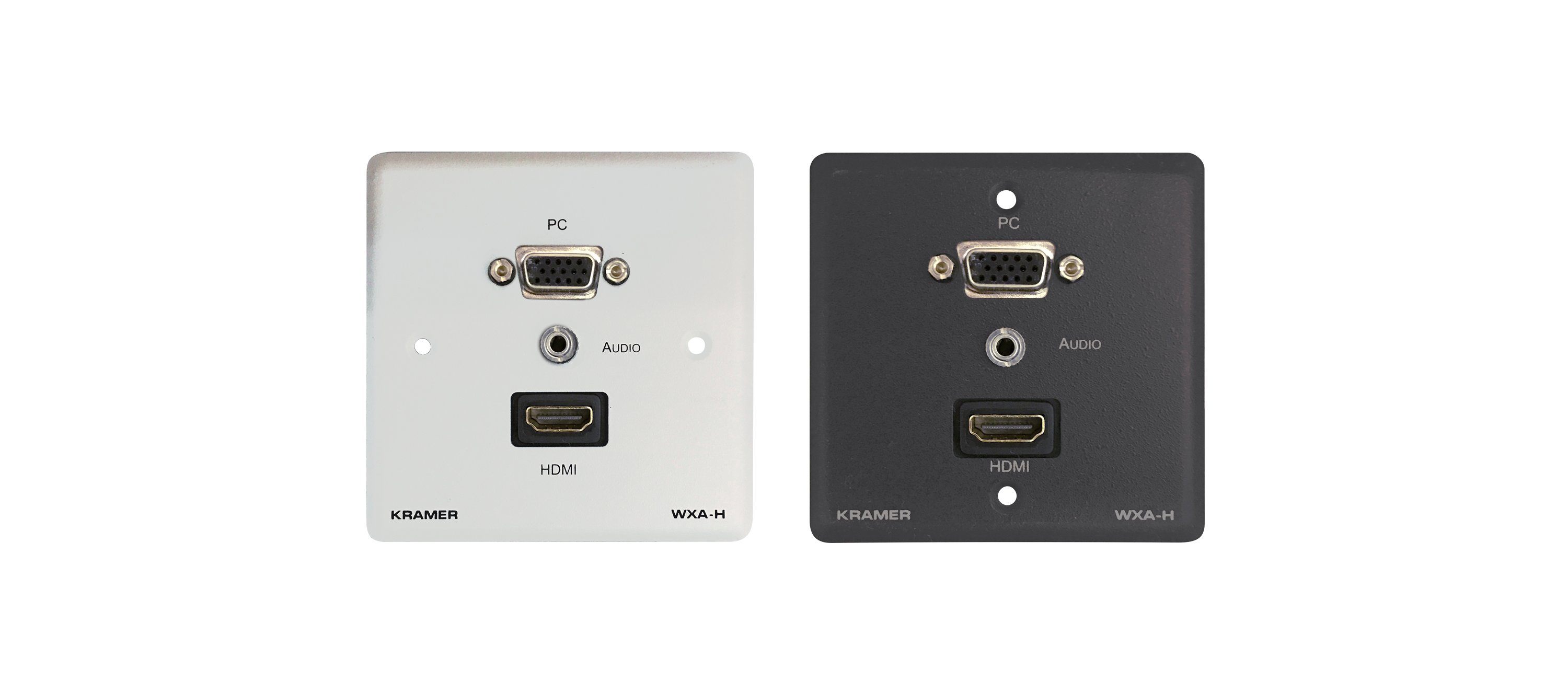 High Resolution Wall Plate VGA Video Signal /& Stereo Audio Extender Over Cat5