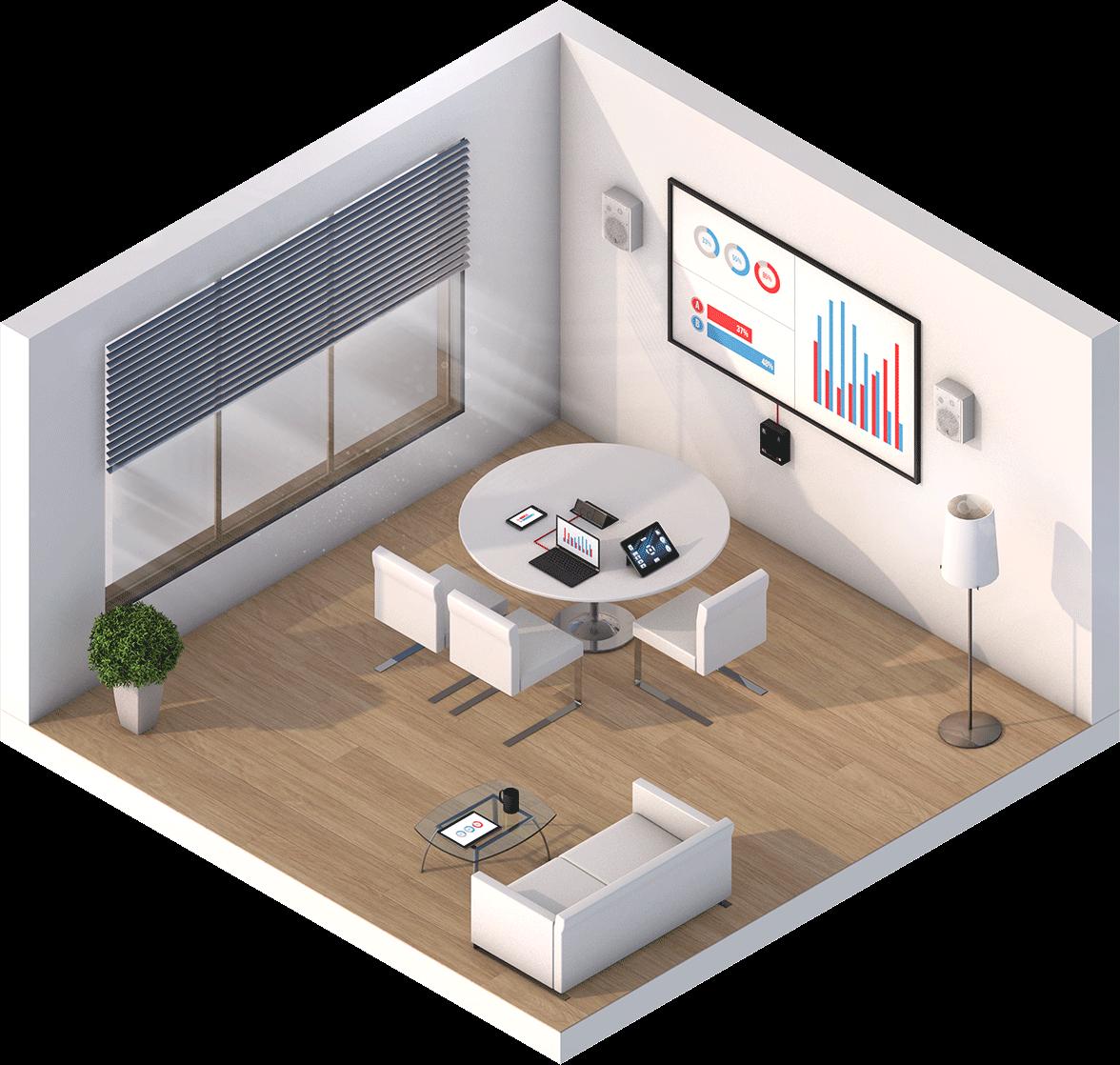 Meeting Room Audio Visual System Hook Up Diagram Huddle